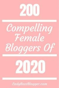 200 compelling female bloggers