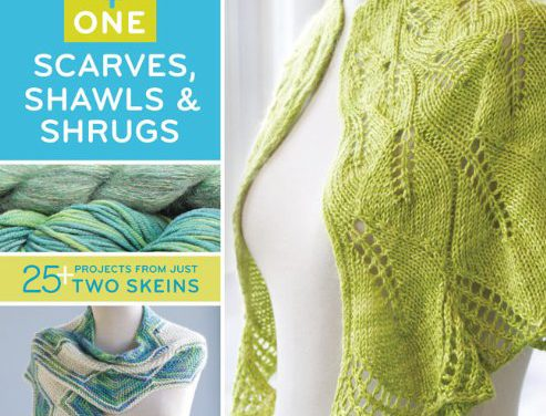 One + One: Scarves, Shawls, and Shrugs