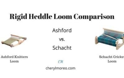 Rigid Heddle Loom Comparison-Ashford and Schacht