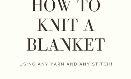 Knitting a Blanket