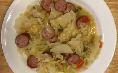 Cabbage and Polish Sausage Dinner
