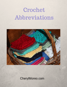 Crochet Terms/Abbreviations