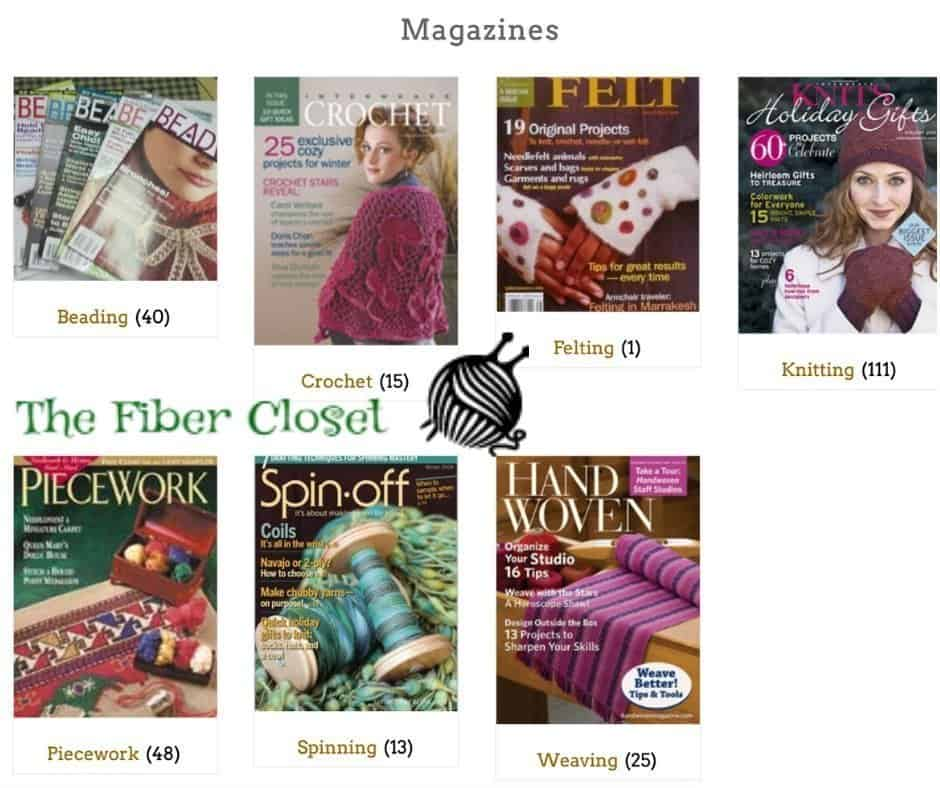 Magazine Images for The Fiber Closet