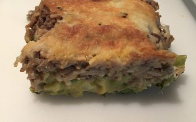 Ground Beef and Broccoli Bake – That's What's for Dinner