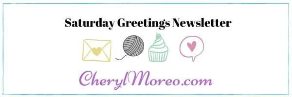 Saturday Greetings Newsletter #87