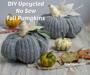 no sew halloween pumpkins