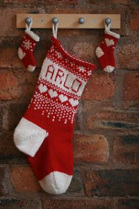 Red/White Christmas Stocking