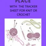 tracker sheet pin