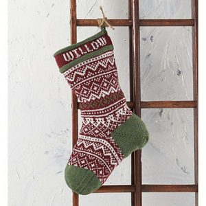 Traditional Christmas Stocking