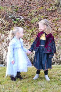 DIY Anna Frozen 2 dress