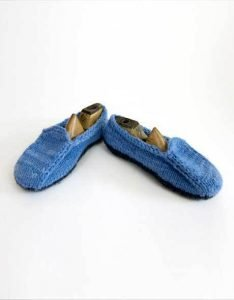 knitted loafers