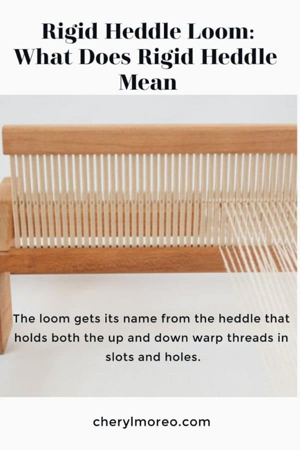 Rigid Heddle What does it Mean?