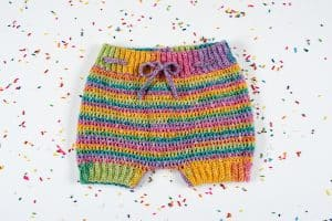 crochet toddler shorts