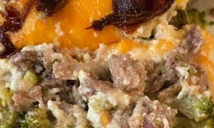 Pork and Broccoli Casserole – Keto-Friendly