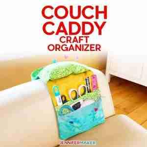 sew couch caddy craft organizer f 1