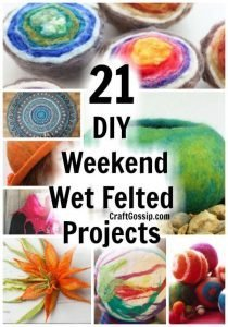 Saturday Greetings 112 Wet Felting