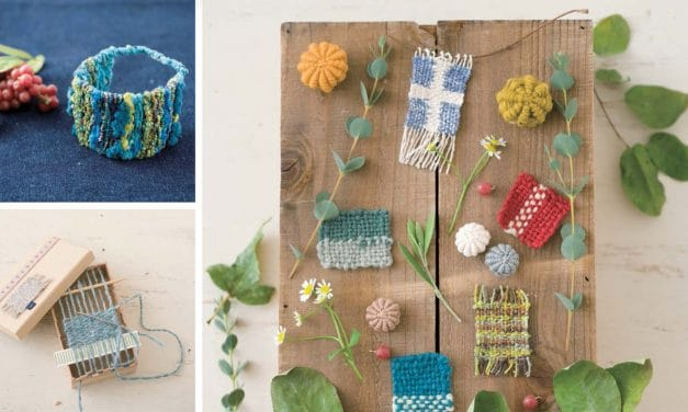 Weaving with Little Handmade Looms – Book Review