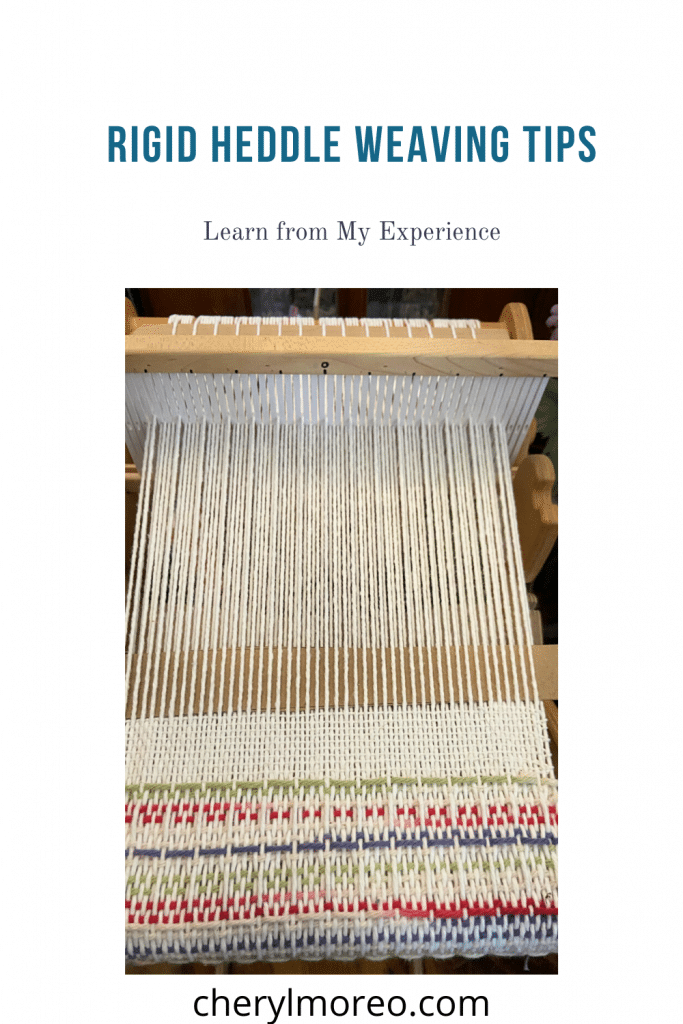 Rigid Heddle Weaving Tips PIN