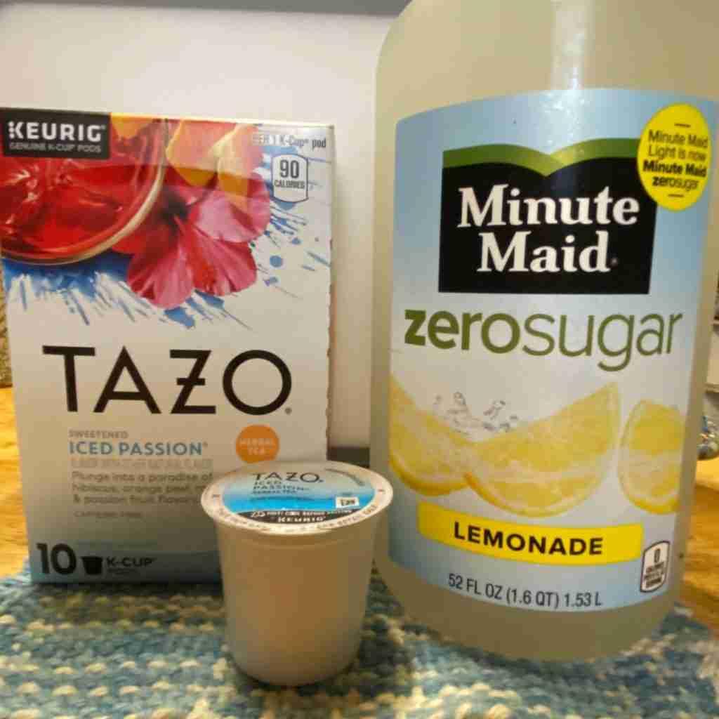 Tazo Iced Passion Lemonade